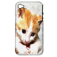 Sweet Face :) Apple iPhone 4/4S Hardshell Case (PC+Silicone)