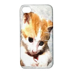 Sweet Face :) Apple iPhone 4/4S Hardshell Case with Stand