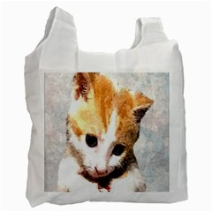 Sweet Face ;) Recycle Bag (two Sides)