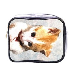 Sweet Face ;) Mini Travel Toiletry Bag (one Side)