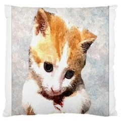 Sweet Face ;) Large Cushion Case (two Sides)