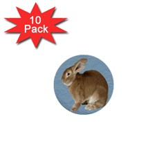 Cute Bunny 1  Mini Button (10 pack)