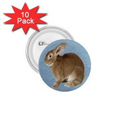 Cute Bunny 1 75  Button (10 Pack)