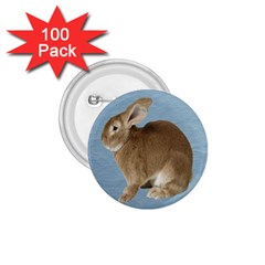 Cute Bunny 1.75  Button (100 pack)