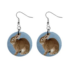 Cute Bunny Mini Button Earrings