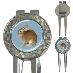 Cute Bunny Golf Pitchfork & Ball Marker