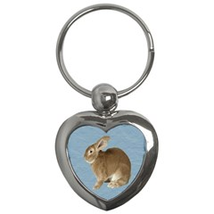 Cute Bunny Key Chain (heart)