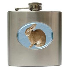 Cute Bunny Hip Flask