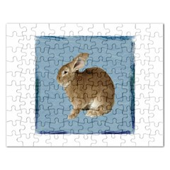 Cute Bunny Jigsaw Puzzle (Rectangle)