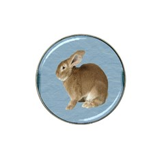 Cute Bunny Golf Ball Marker (for Hat Clip)
