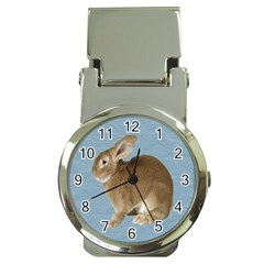 Cute Bunny Money Clip With Watch