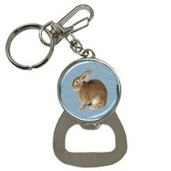 Cute Bunny Bottle Opener Key Chain
