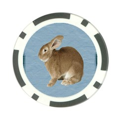 Cute Bunny Poker Chip