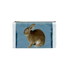 Cute Bunny Cosmetic Bag (Small)