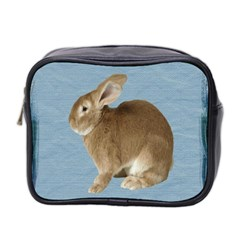 Cute Bunny Mini Travel Toiletry Bag (two Sides)