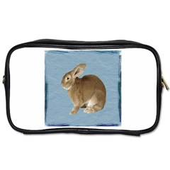 Cute Bunny Travel Toiletry Bag (Two Sides)