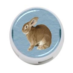 Cute Bunny 4 Port Usb Hub (one Side)