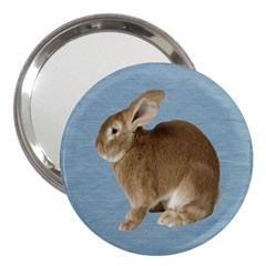 Cute Bunny 3  Handbag Mirror