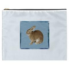 Cute Bunny Cosmetic Bag (XXXL)