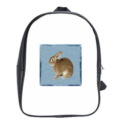 Cute Bunny School Bag (xl)