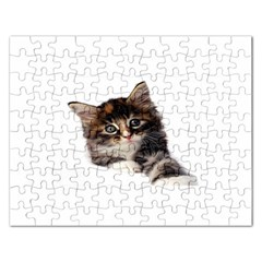 Curious Kitty Jigsaw Puzzle (Rectangle)