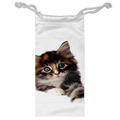 Curious Kitty Jewelry Bag