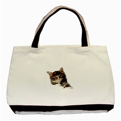 Curious Kitty Classic Tote Bag