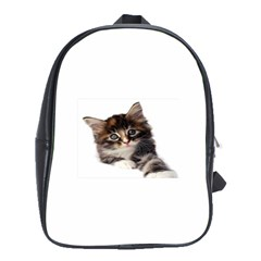 Curious Kitty School Bag (Large)