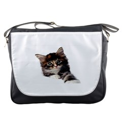 Curious Kitty Messenger Bag