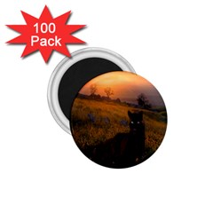 Evening Rest 1 75  Button Magnet (100 Pack)
