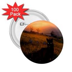 Evening Rest 2 25  Button (100 Pack)