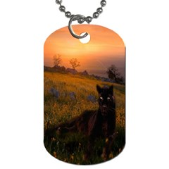 Evening Rest Dog Tag (One Sided)