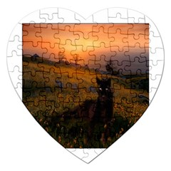 Evening Rest Jigsaw Puzzle (Heart)