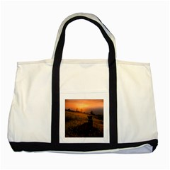 Evening Rest Two Toned Tote Bag