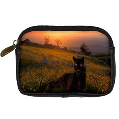 Evening Rest Digital Camera Leather Case