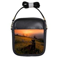 Evening Rest Girl s Sling Bag