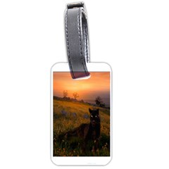 Evening Rest Luggage Tag (One Side)
