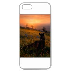 Evening Rest Apple Seamless Iphone 5 Case (clear)