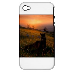 Evening Rest Apple iPhone 4/4S Hardshell Case (PC+Silicone)