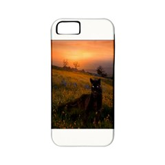 Evening Rest Apple iPhone 5 Classic Hardshell Case (PC+Silicone)