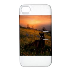 Evening Rest Apple iPhone 4/4S Hardshell Case with Stand