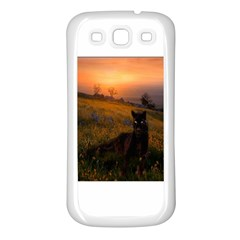 Evening Rest Samsung Galaxy S3 Back Case (white)