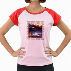 Stormy Twilight [Framed] Women s Cap Sleeve T-Shirt (Colored)