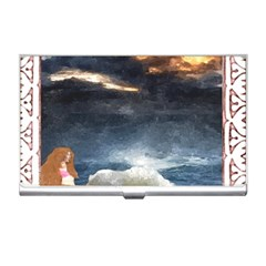 Stormy Twilight [framed] Business Card Holder