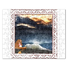Stormy Twilight [Framed] Jigsaw Puzzle (Rectangle)