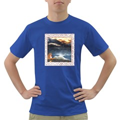 Stormy Twilight [Framed] Mens' T-shirt (Colored)
