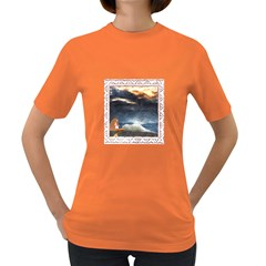 Stormy Twilight [Framed] Womens' T-shirt (Colored)