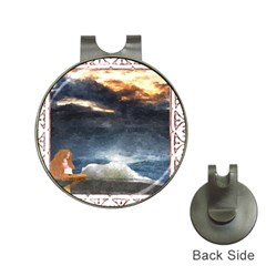Stormy Twilight [framed] Hat Clip With Golf Ball Marker