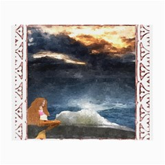 Stormy Twilight [framed] Glasses Cloth (small)