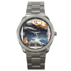 Stormy Twilight [Framed] Sport Metal Watch